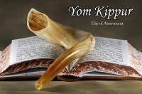 Yom Kippur – September 30 – 10 Tishrei