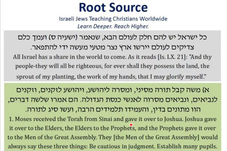 Lesson 2: Giving Over the Torah