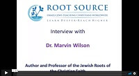 Dr. Marvin Wilson Interview – Part One