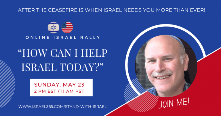 """Online Israel Rally: """"How can I help Israel today?"""""""