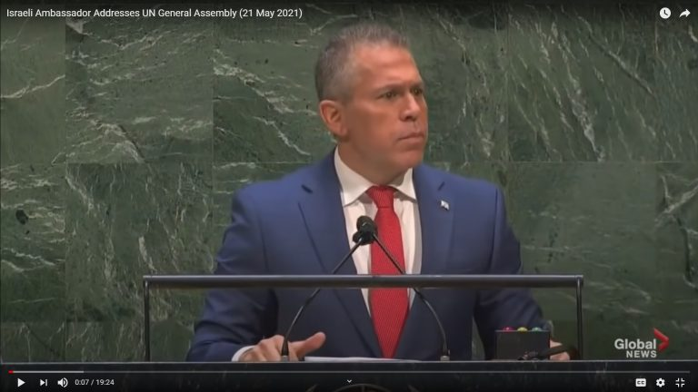 Israel's Ambassador to the UN Explains Israel's Right and Duty to Defend Its Citizens